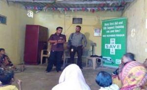 FIRST RESPONDER PROGRAM ORGANIZED AT NHM OFFICE, BHUBANESWAR, KHURDA DISTRICT,ODISHA